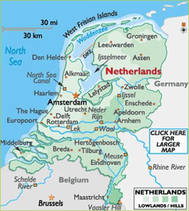 Netherland Map Map amsterdam Netherland Stayres Netherland